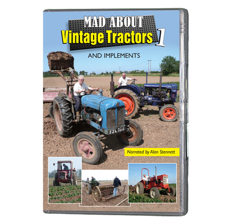 Mad About Vintage Tractors 1 (DVD 117)