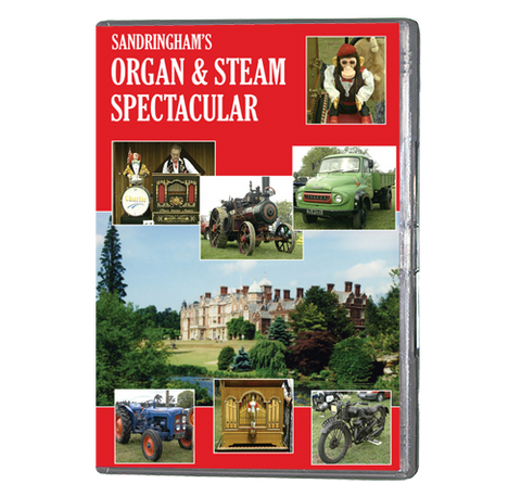 Organ & Steam Spectacular (DVD064) - Now on DVD