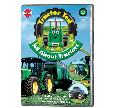 Tractor Ted - All About Tractors (DVD)