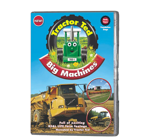 Tractor Ted - Big Machines (DVD 382)