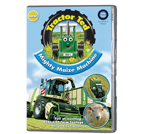 Tractor Ted - Mighty Maize Machines (DVD)