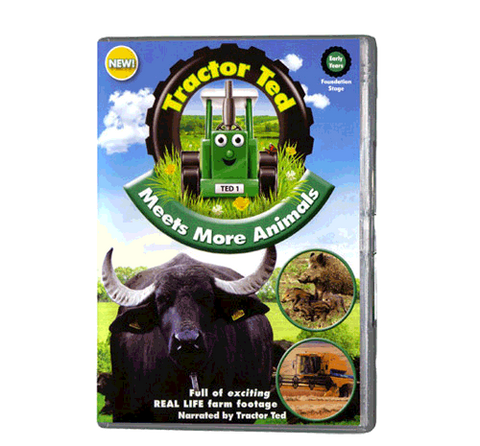 Tractor Ted - Meets More Animals (DVD 410)