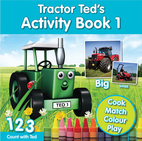 Tractor Ted's Activity Book 1 (BOOK 406)