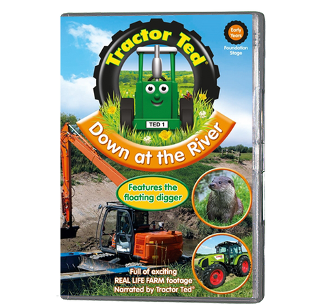 Tractor Ted - Down On The River (DVD)