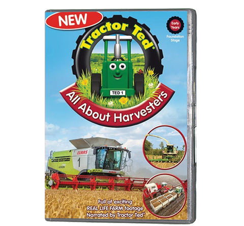 Tractor Ted - All About Harvesters (DVD 227)