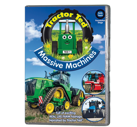 Tractor Ted - Massive Machines  (DVD 206)