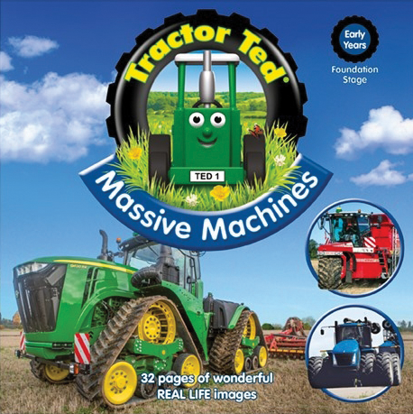 Tractor Ted - Massive Machines (Book)