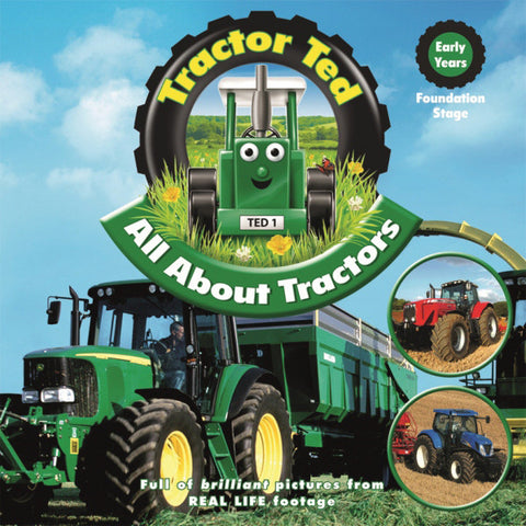 Tractor Ted - All About Tractors (BOOK)