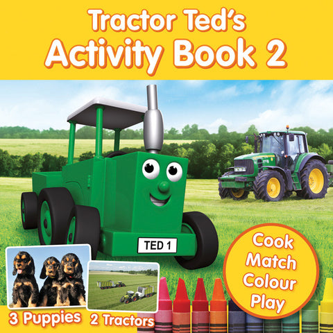 Tractor Ted's Activity Book 2 (BOOK 091)