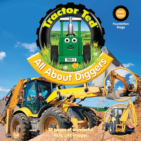 Tractor Ted - All About Diggers (Book)