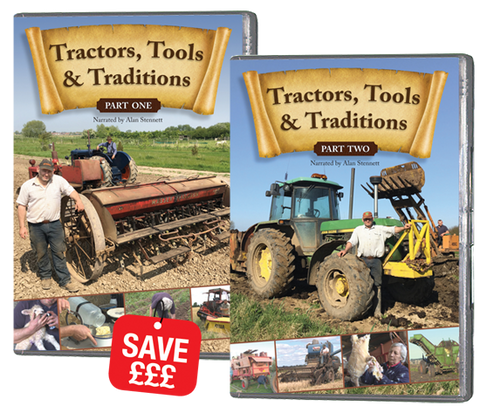 Tractors, Tools and Traditions - Parts 1 and 2 (DVD317)