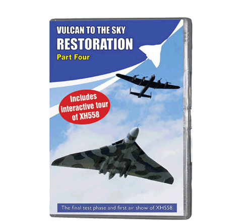 Vulcan to the Sky Restoration 4 (DVD 108)