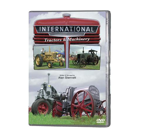 International Tractors and Machinery (DVD 018)