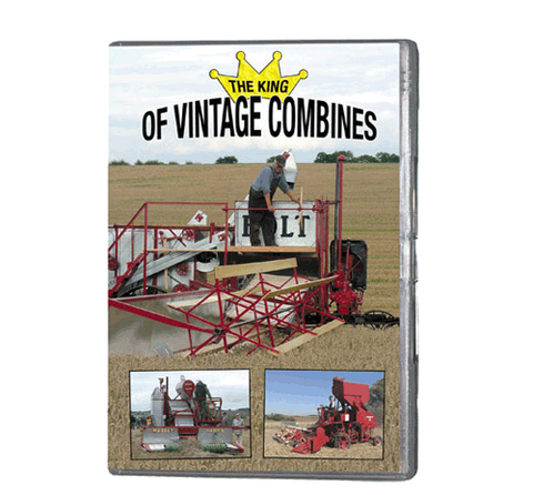 King of Vintage Combines (DVD 087)