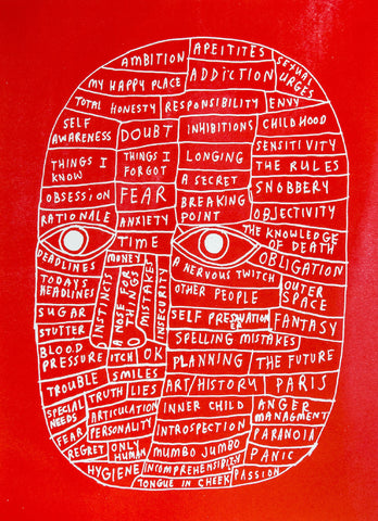 David Shillinglaw - Head (Red)