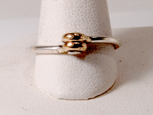 Riveted Wedding Band