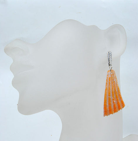 Shell Earrings - riccoartjewelry.com  - 1
