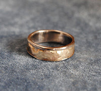 14K and Sterling Composite Band Size 7 - riccoartjewelry.com  - 3