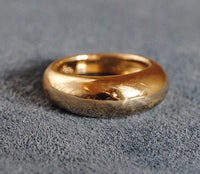 14K Gold Classic High Dome Ring - riccoartjewelry.com  - 1