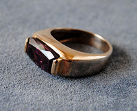 14K Gold Ring with Tourmaline - riccoartjewelry.com  - 3