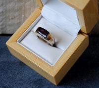 14K Gold Ring with Tourmaline - riccoartjewelry.com  - 4