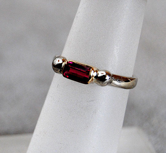 14K Gold Ring with Pink Tourmaline - riccoartjewelry.com  - 1