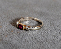 14K Gold Ring with Pink Tourmaline - riccoartjewelry.com  - 3