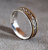 Mens Wedding Ring Musician Medium - riccoartjewelry.com  - 1