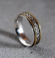 Mens Wedding Ring Musician Medium - riccoartjewelry.com  - 2