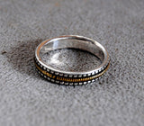 Mens Wedding Ring Musician--Narrow - riccoartjewelry.com  - 2