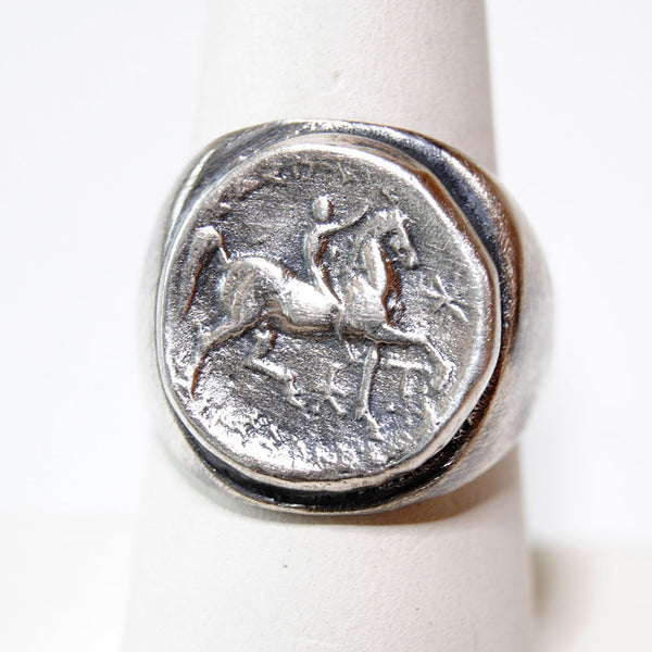 Horse And Rider Antiquity - riccoartjewelry.com  - 1