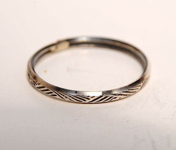 Silver Stack Rings--New Patterns - riccoartjewelry.com  - 1