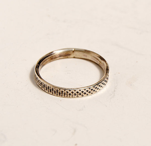 Silver Stack Rings--New Patterns - riccoartjewelry.com  - 3