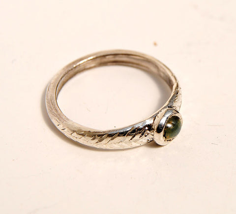 Cat's Eye Chrysoberyl Ring - riccoartjewelry.com  - 1