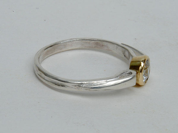 Gold and Silver Stack Ring - riccoartjewelry.com  - 3
