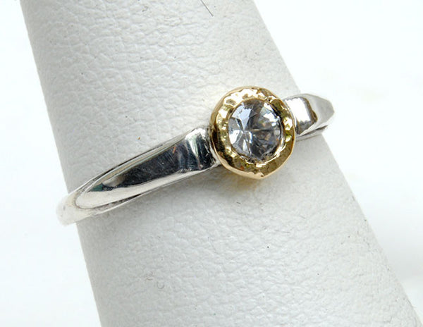 Gold and Silver Stack Ring - riccoartjewelry.com  - 1