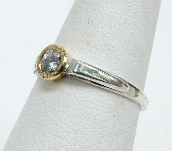 Gold and Silver Stack Ring - riccoartjewelry.com  - 2