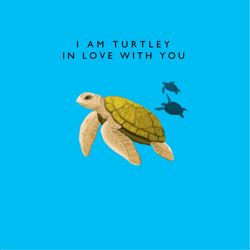 I Am Turtley In Love With You