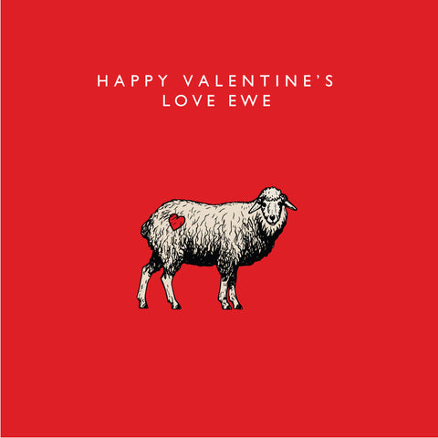 Happy Valentine's Love Ewe