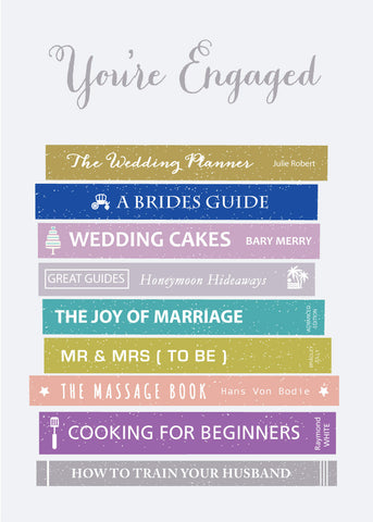 'You're Engaged' Greetings Card