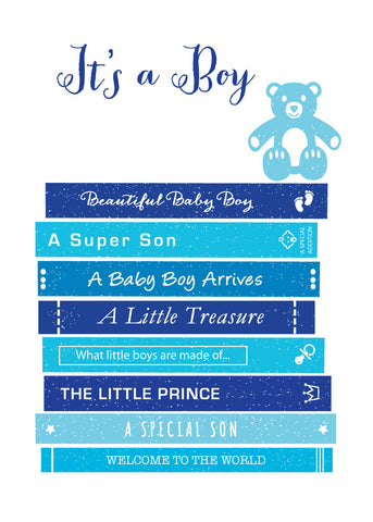 'It's a Boy' New Baby Greetings Card