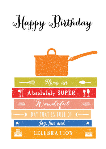 'Happy Birthday' - Cook Greetings Card