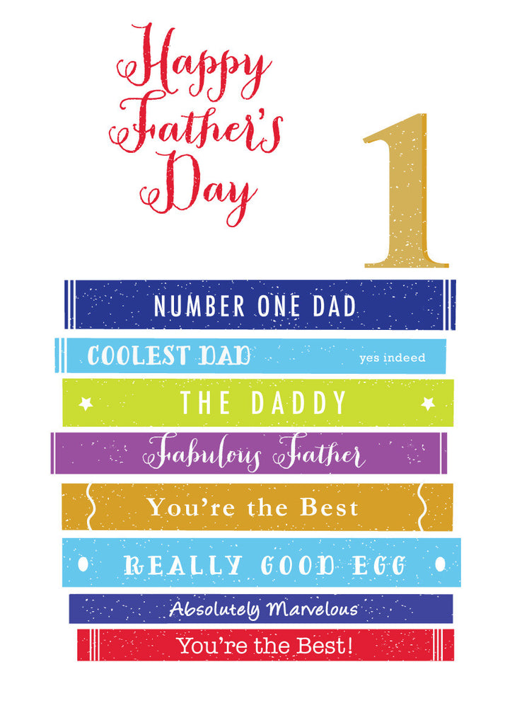 'Happy Father's Day' Greetings Card