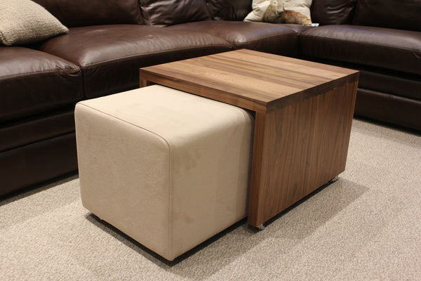 Merge Coffee Table and Footstool