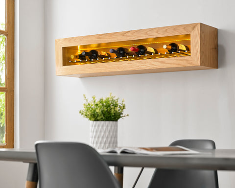 Bodega Wine Rack – Rectangular, LANDSCAPE hung