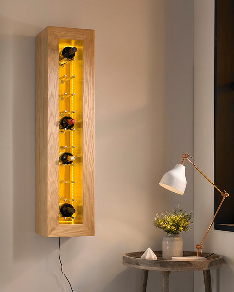 Bodega Wine Rack – Rectangular, PORTRAIT hung