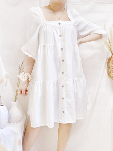 GERTRUDE Buttons Layered Doll Dress
