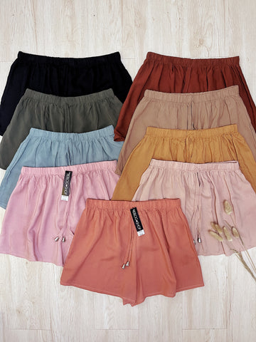 DALLAS Cotton Shorts (Straight Hem)