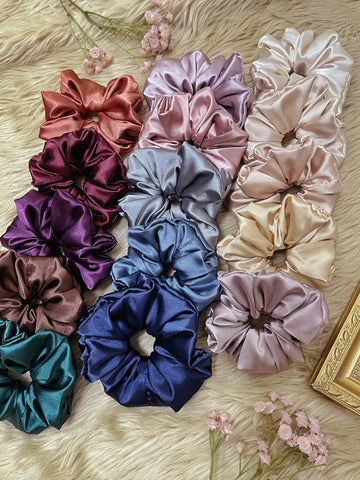 Charmeuse Scrunchie - Large (1pc)
