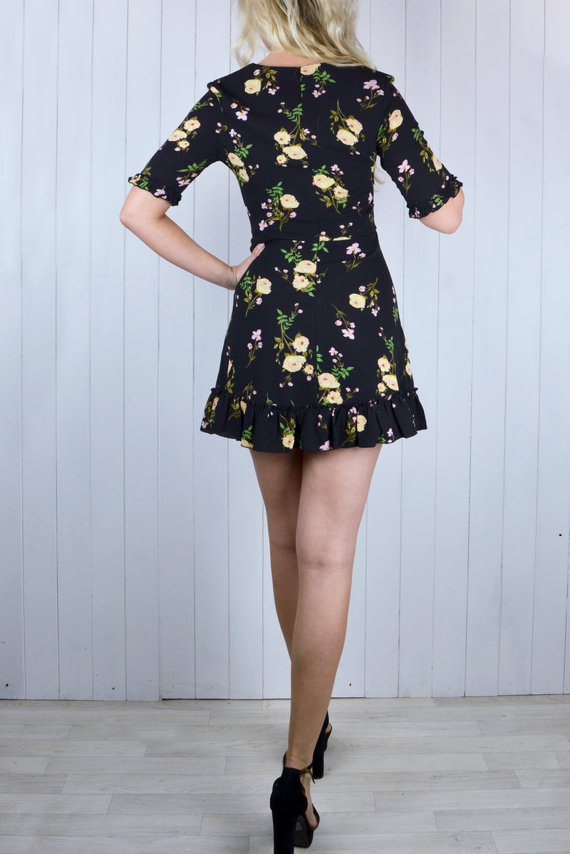 Tabitha Floral Print Dress